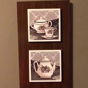 Tea Wall Decor